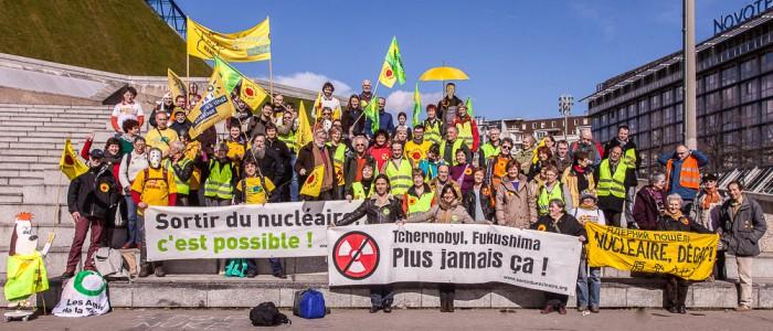 Champardennais et Bourguignons à Paris pour manifester contre le nucléaire